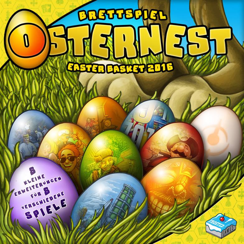Brettspiel-Osternest 2016