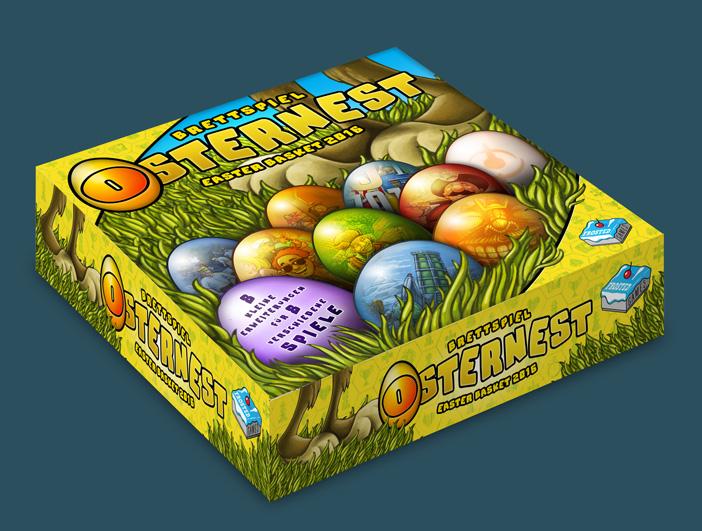 Frosted Games kündigt Brettspiel-Osternest an