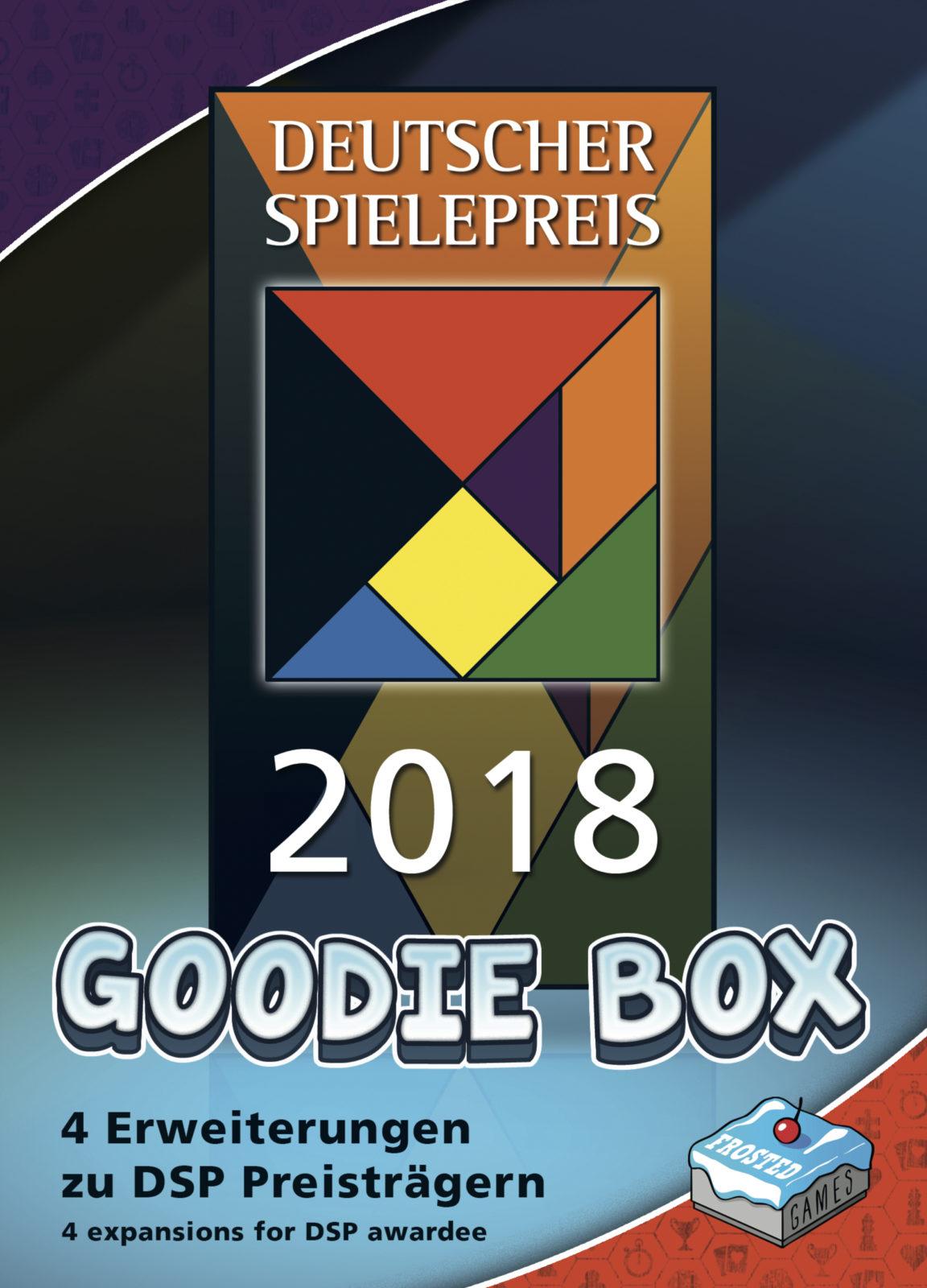 Deutscher Spielepreis 2016 Goodie-Box