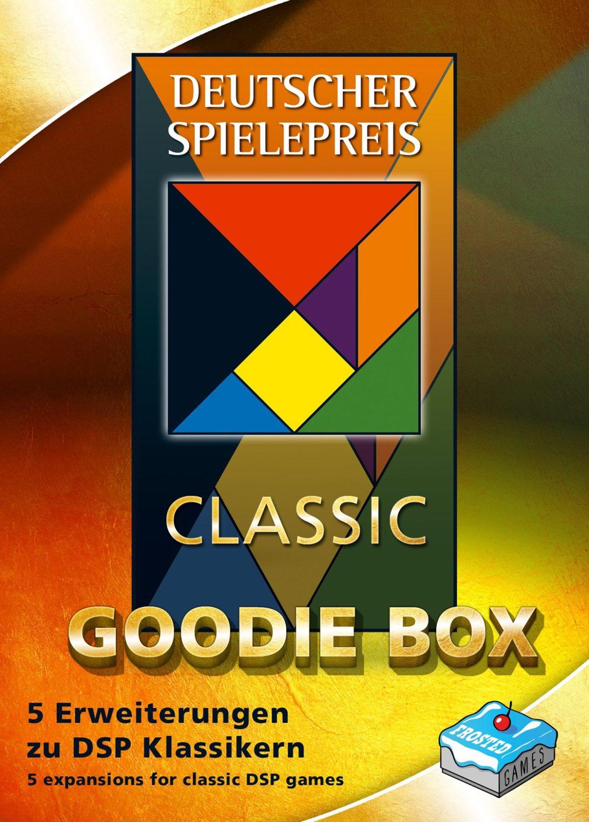 Deutscher Spielepreis Classic Goodie-Box