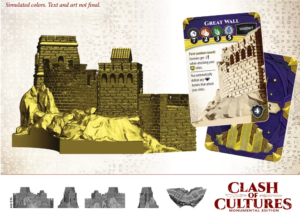 Große Mauer-Miniatur