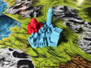 Siedlung, Festung, Markt, Observatorium und ein übernommener Tempel